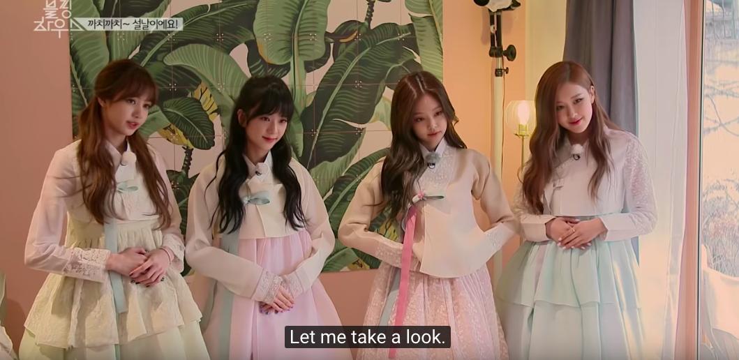 """""""Rượu cũ dùng lại"""": 4 cô nàng Black Pink xinh đẹp ngút ngàn trong những bộ hanbok truyền thống chúc Tết Canh Tý, nhưng hóa ra lại là ảnh từ 2 năm trước - Ảnh 6."""