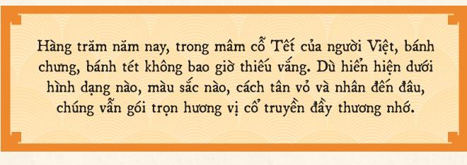 Bánh chưng, bánh tét - tinh hoa nghìn năm lúa nước trên bàn thờ Việt và những biến thể duyên dáng thời hiện đại - Ảnh 2.