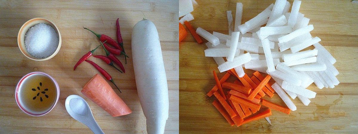 Củ cải trộn chua ngọt món ngon giải ngán ngày tết - Ảnh 1.