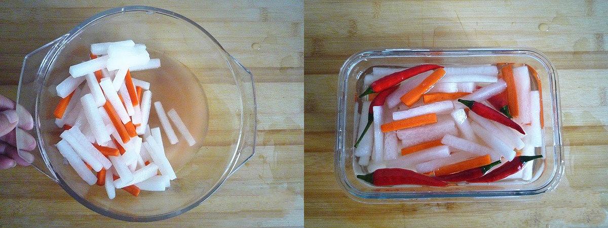 Củ cải trộn chua ngọt món ngon giải ngán ngày tết - Ảnh 4.