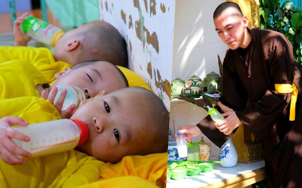 Những bình sữa cạnh bát hương và chuyện xúc động về ngôi chùa miền Tây cưu mang hàng trăm trẻ bất hạnh