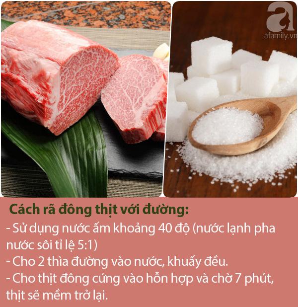 Mẹo rã đông thịt sau 7 phút, thịt mềm, tươi ngon như mới mua ở chợ về