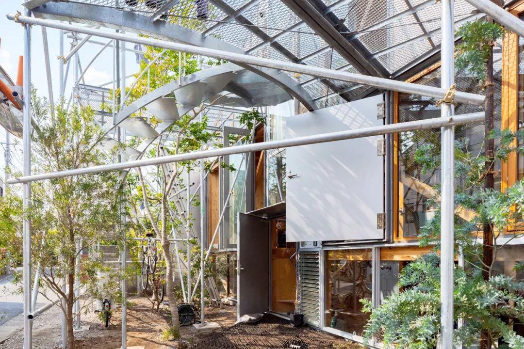 Mua mảnh đất ở khu nhà giàu, gia đình ba thế hệ thiết kế ngôi nhà đặc biệt chỉ toàn ánh sáng và cây xanh ở Nhật Bản - Ảnh 2.