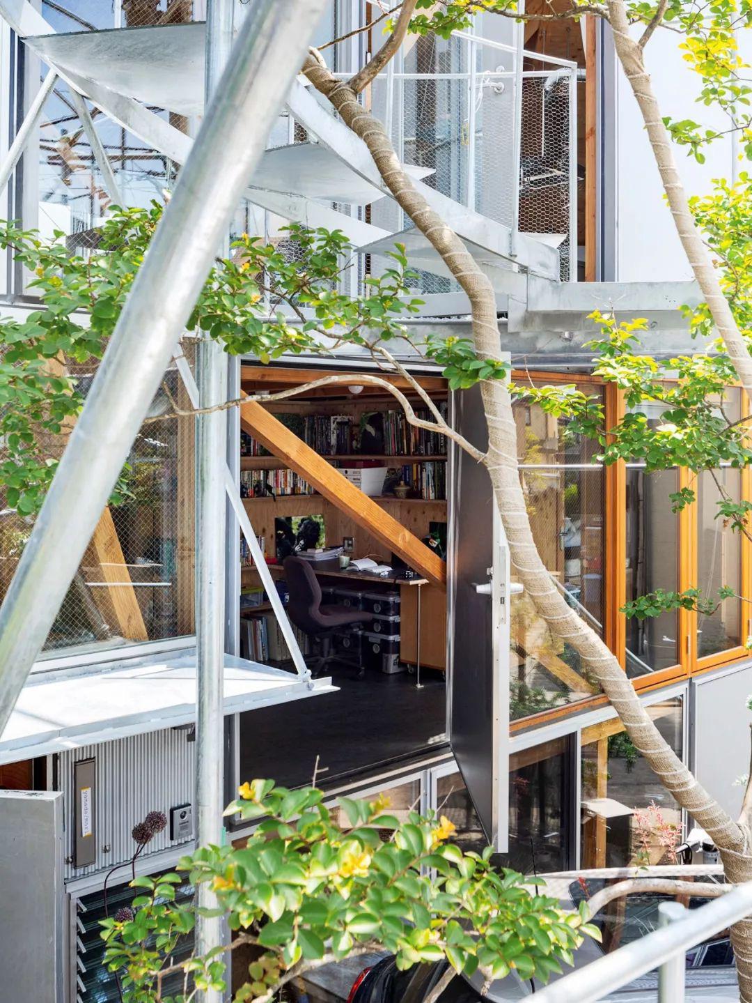 Mua mảnh đất ở khu nhà giàu, gia đình ba thế hệ thiết kế ngôi nhà đặc biệt chỉ toàn ánh sáng và cây xanh ở Nhật Bản - Ảnh 14.