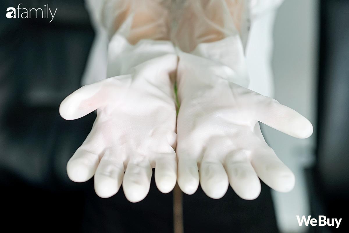 Review nhanh đôi găng tay dao đâm không thủng hot trên mạng: Dâu mới tham khảo Tết này rửa bát đỡ cóng tay - Ảnh 3.