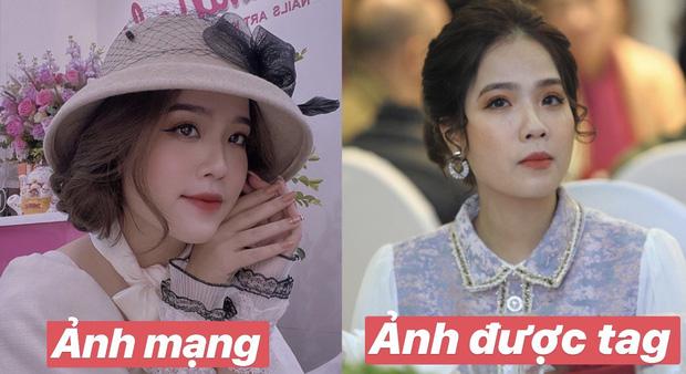 Bạn gái tin đồn Quang Hải xuất hiện thoáng qua trong đám cưới Văn Đức nhưng nhan sắc giữa ảnh tự chụp và ảnh được tag của cô nàng lại gây tranh cãi - Ảnh 5.