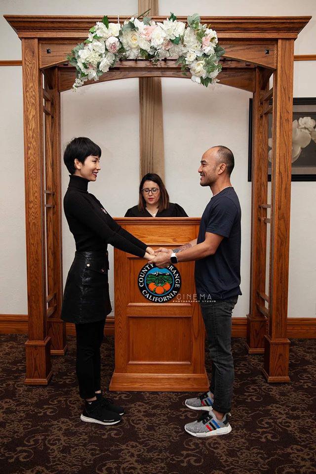 Xuân Lan cùng ông xã sang Mỹ đăng kết hôn và chính thức trở thành vợ chồng hợp pháp  - Ảnh 7.