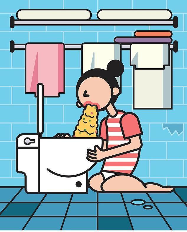 Chia sẻ chân thực về quá trình mang thai và sinh con qua bộ tranh của nữ thiết kế đồ họa Trung Quốc - Ảnh 5.