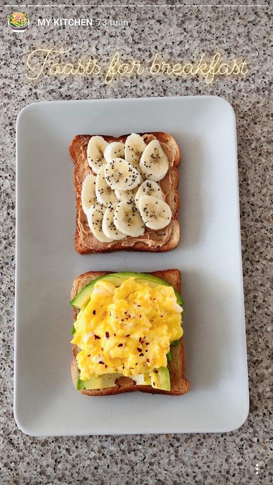 Giữ eo thon dáng đẹp ngay từ bữa sáng nhờ loạt gợi ý từ Hà Tăng - quý cô không bao giờ béo - Ảnh 3.