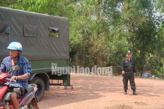 CLIP: Lực lượng cơ động bố ráp ở Củ Chi bắt kẻ nổ súng làm 5 người chết - Ảnh 4.