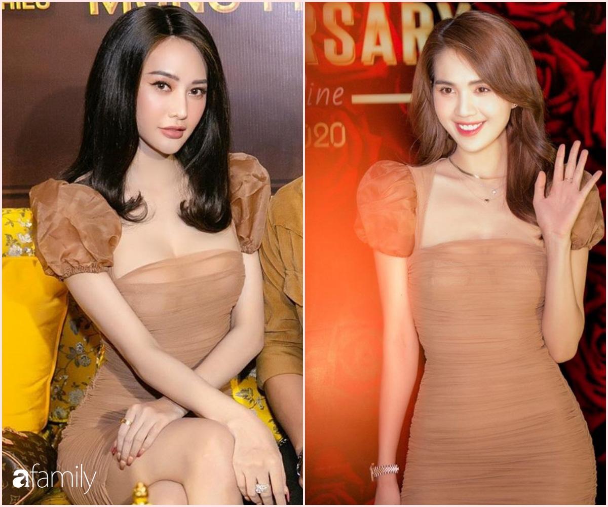 """Đụng váy cùng Ngọc Trinh, Linh Chi mất điểm với kiểu tóc như """"xuyên không"""" từ 10 năm trước - Ảnh 5."""