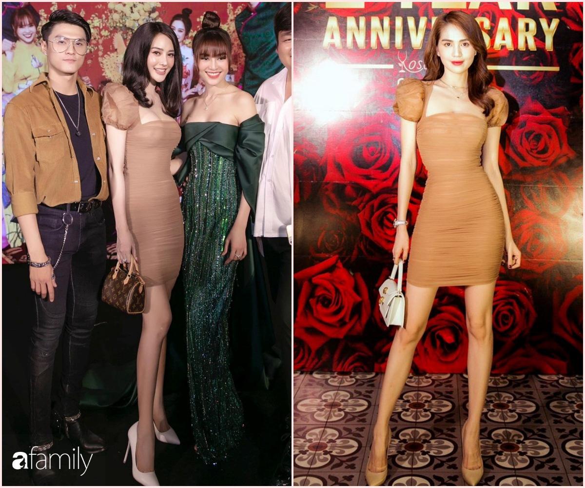 """Đụng váy cùng Ngọc Trinh, Linh Chi mất điểm với kiểu tóc như """"xuyên không"""" từ 10 năm trước - Ảnh 6."""