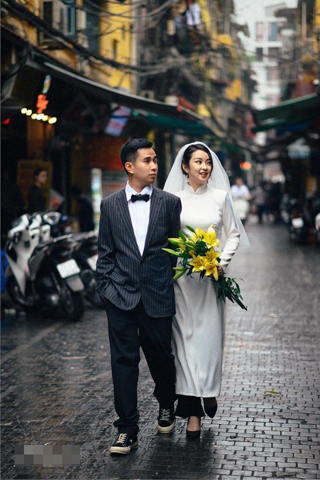 Cựu hot girl Mi Vân khoe ảnh cưới mộc mạc và tinh tế đậm chất Hà Nội, nhan sắc kiêu kỳ của cô dâu chiếm trọn spotlight - Ảnh 2.