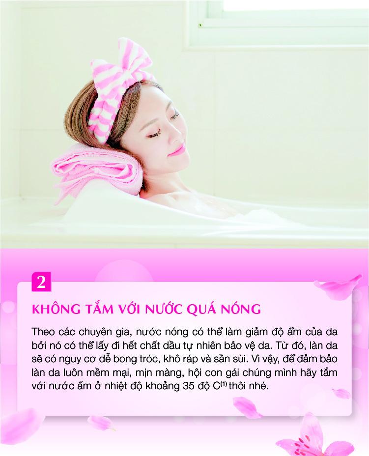 Mách bạn 4 bí quyết tắm siêu đơn giản để sở hữu ngay làn da trắng mịn thơm hương đón tết gần kề - Ảnh 2.