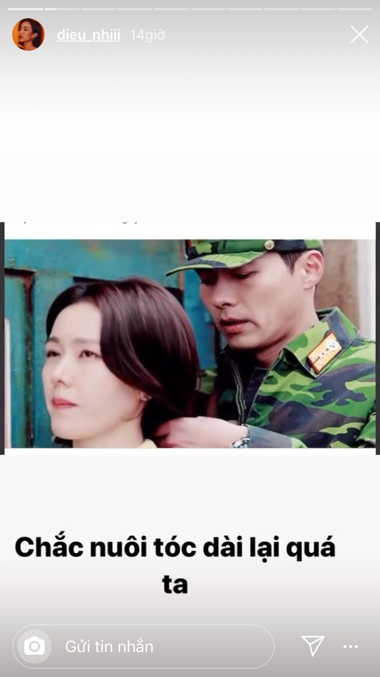 """Nhìn Son Ye Jin và Huyn Bin """"tình bể bình"""", Diệu Nhi hay bất cứ cô gái nào cũng chỉ ấp ủ ước mơ để tóc dài mà thôi - Ảnh 1."""