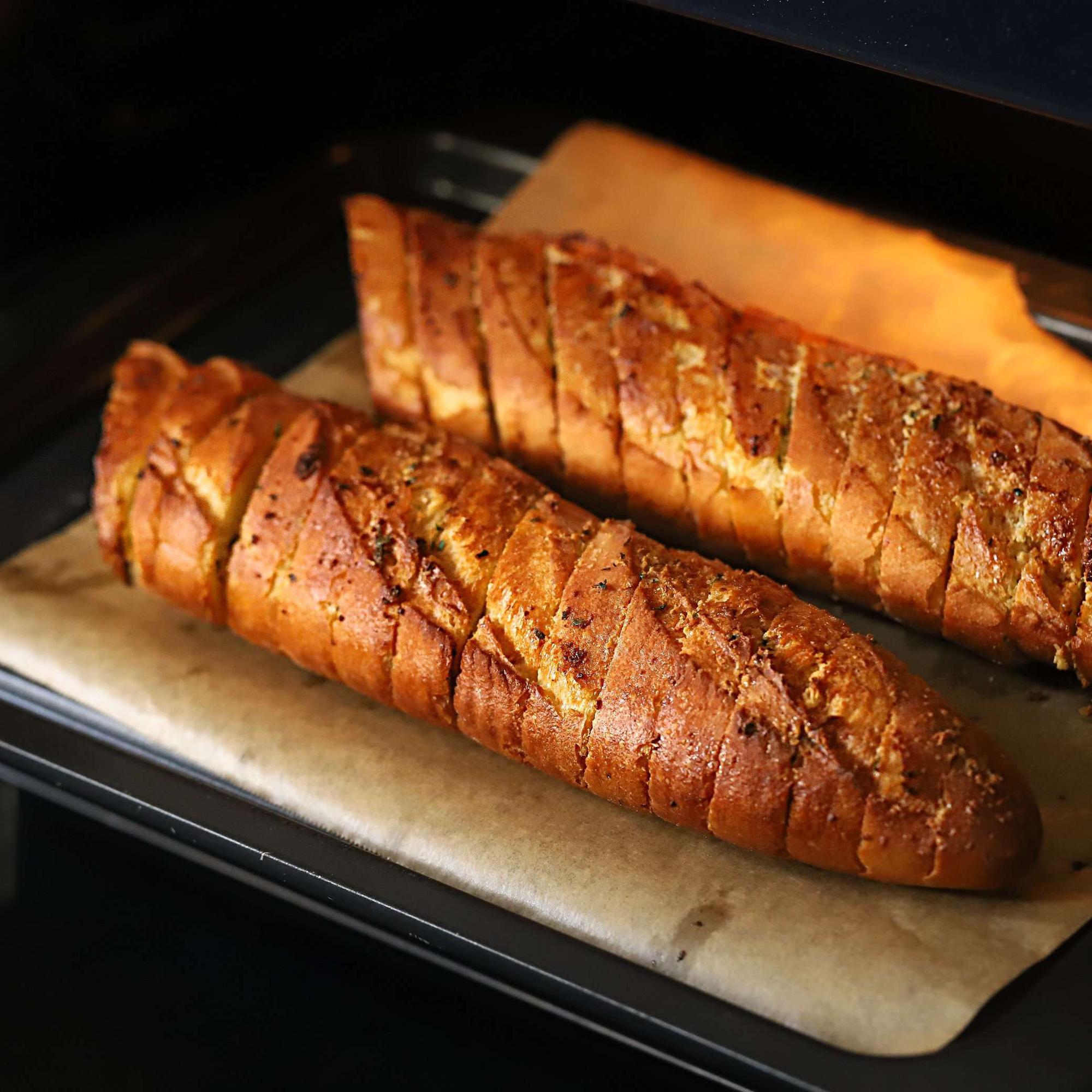 Chỉ 15 phút tôi chuẩn bị được món bánh mì nướng thơm ngon nhức nhối cho cả nhà ăn sáng! - Ảnh 5.