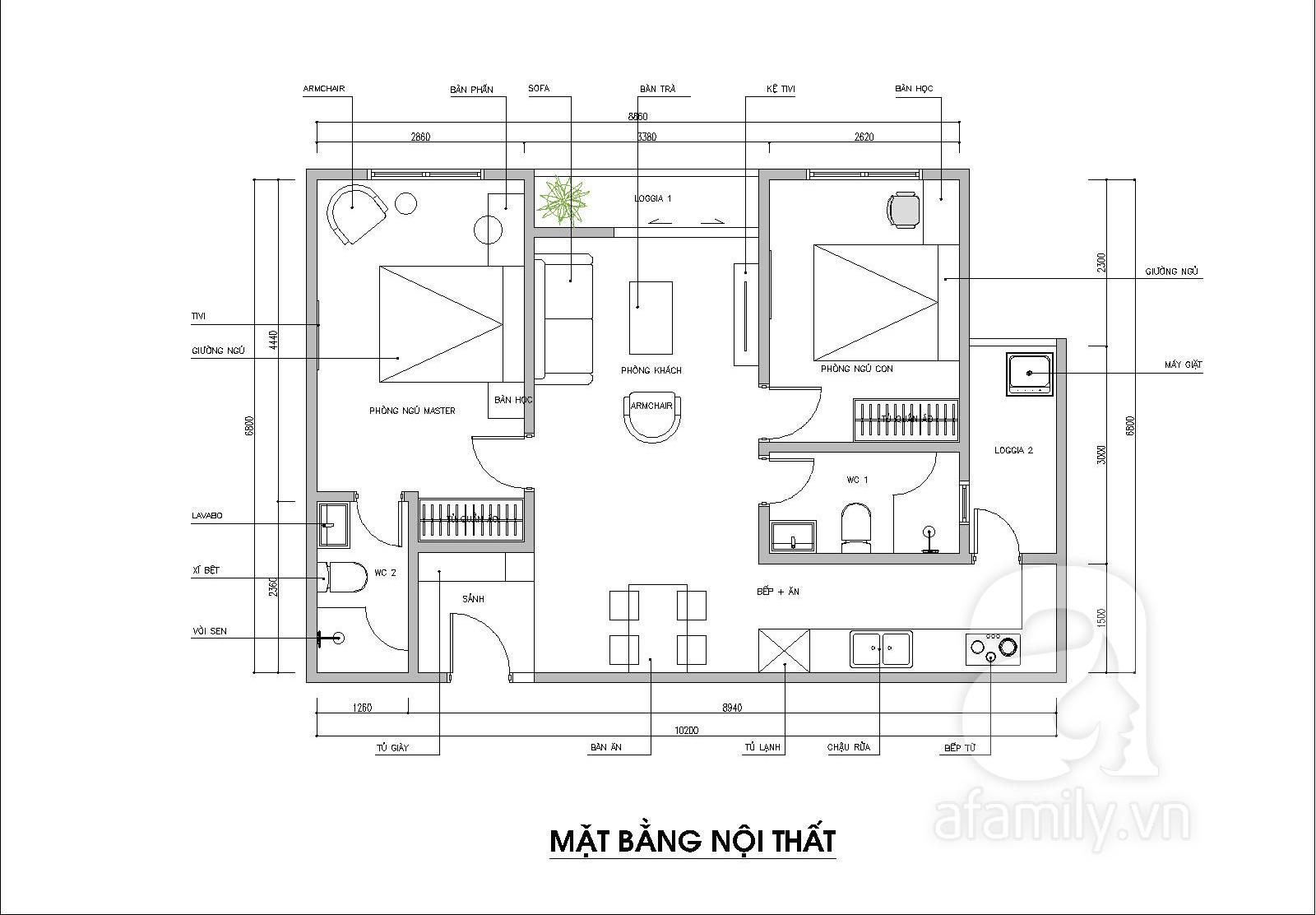 Ấn tượng với kiến trúc sư tư vấn thiết kế căn hộ 60m2 màu pastel với chi phí không quá 150 triệu đồng - Ảnh 2.