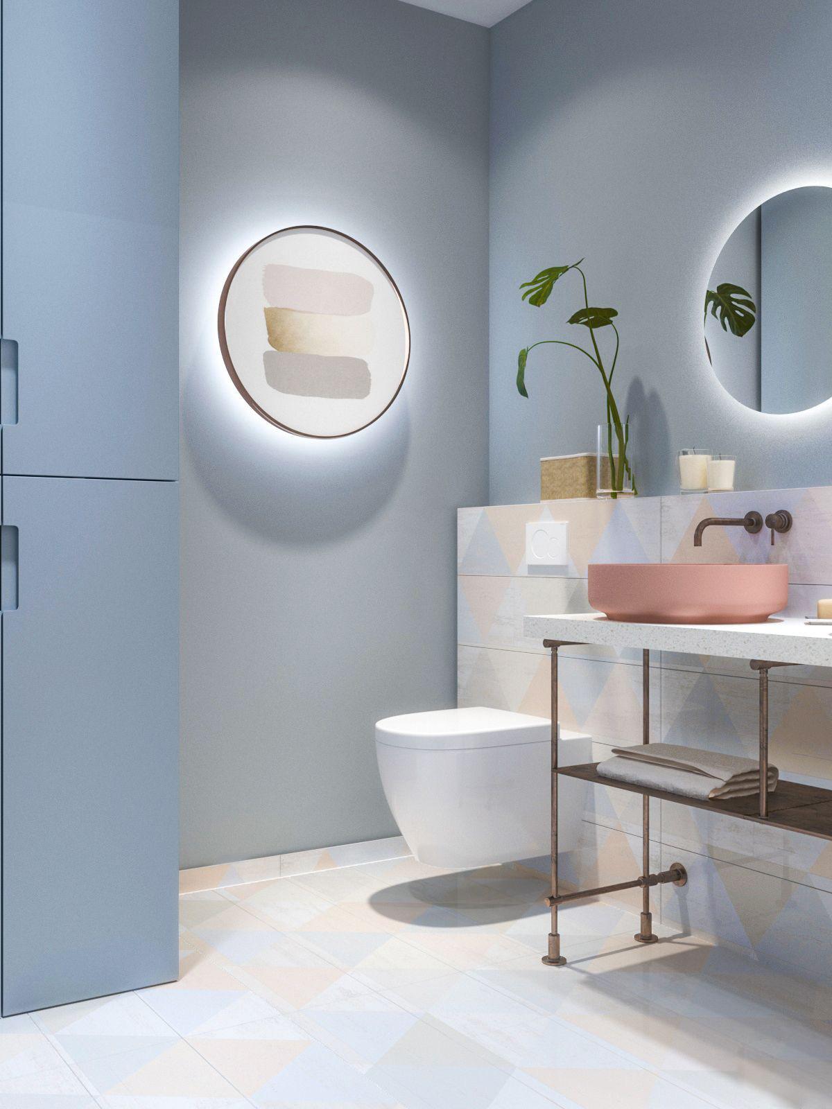 Ấn tượng với kiến trúc sư tư vấn thiết kế căn hộ 60m2 màu pastel với chi phí không quá 150 triệu đồng - Ảnh 11.