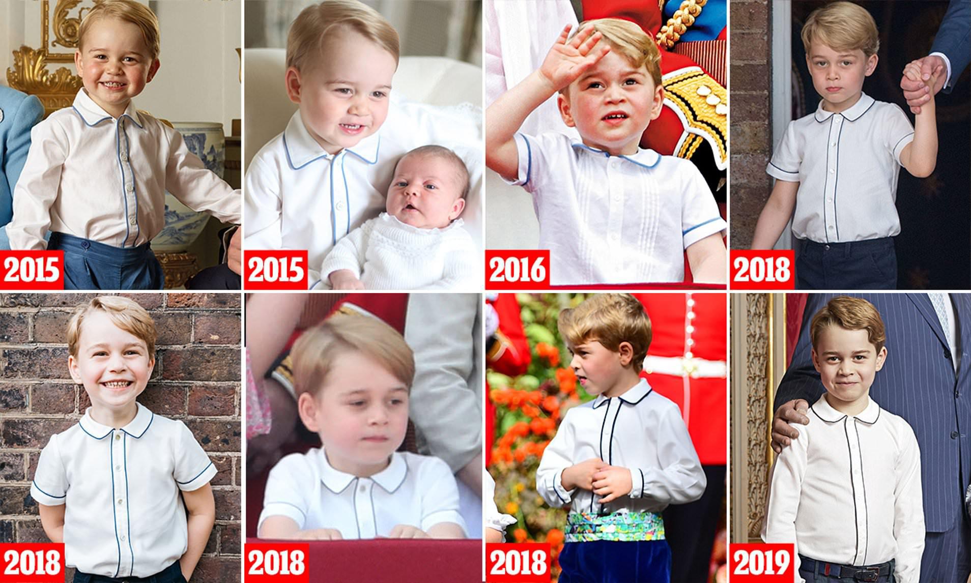 Hoàng tử Geogre ngày càng ra dáng, diện đi diện lại 1 kiểu áo mà khí chất thăng hạng vù vù - Ảnh 3.