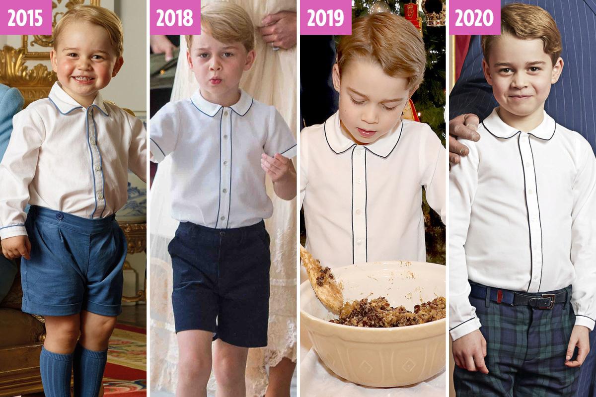 Hoàng tử Geogre ngày càng ra dáng, diện đi diện lại 1 kiểu áo mà khí chất thăng hạng vù vù - Ảnh 7.