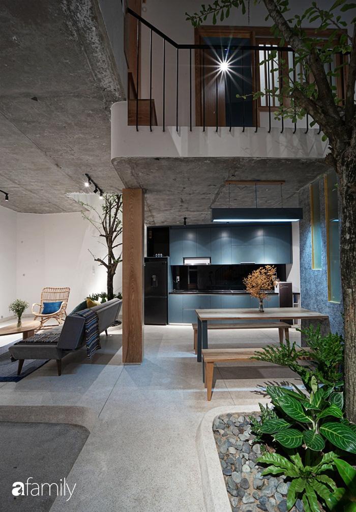 Ngôi nhà đẹp mộng mơ với cây xanh và ánh sáng của chủ nhà say đắm cúc họa mi ở miền Trung - Ảnh 6.