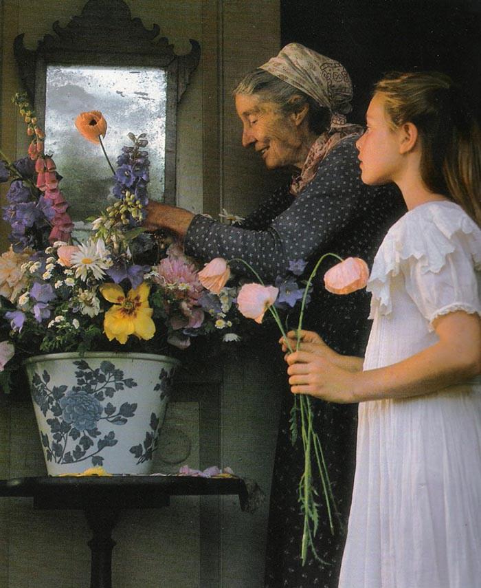 Cuộc sống an yên của cụ bà 92 tuổi bên khu vườn tự tay trồng hoa, rau quả ở vùng thôn quê - Ảnh 8.