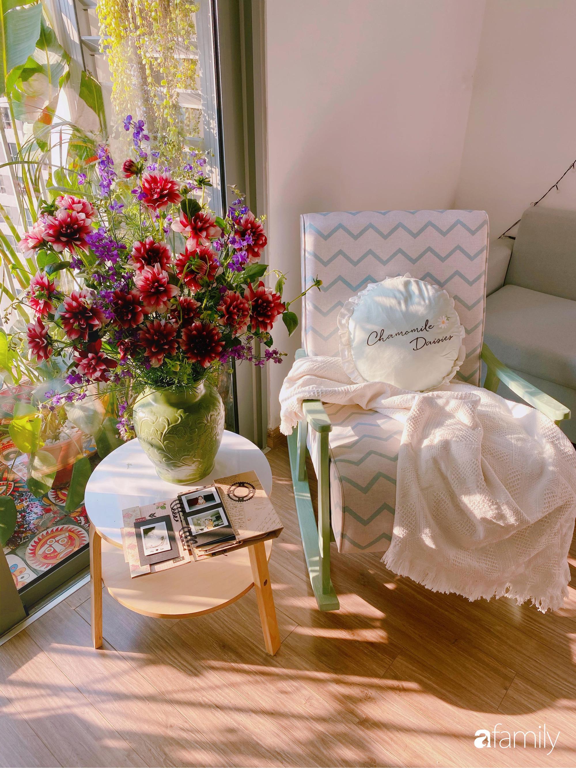 Căn hộ được trang trí tỉ mỉ, khéo léo giúp góc nào cũng đẹp ấm cúng và bình yên ở Hà Nội - Ảnh 7.