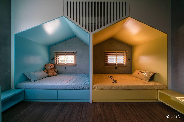Ngôi nhà sử dụng vật liệu thuần tự nhiên tạo cảm giác bình yên cho hai cô con gái nhỏ cùng nhau lớn lên ở Đà Nẵng - Ảnh 11.