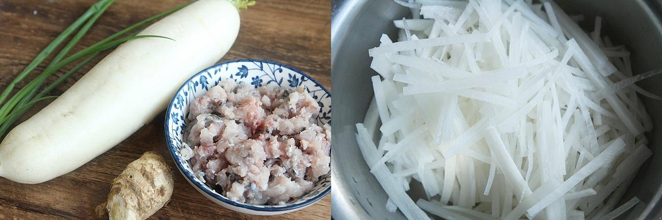 Củ cải xào cá món ngon cực kỳ dễ làm - Ảnh 1.