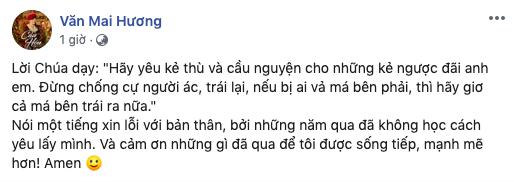 Văn Mai Hương lần đầu lên tiếng sau  11 ngày im lặng kể từ khi bị hacker tung hàng loạt clip nhạy cảm - Ảnh 2.