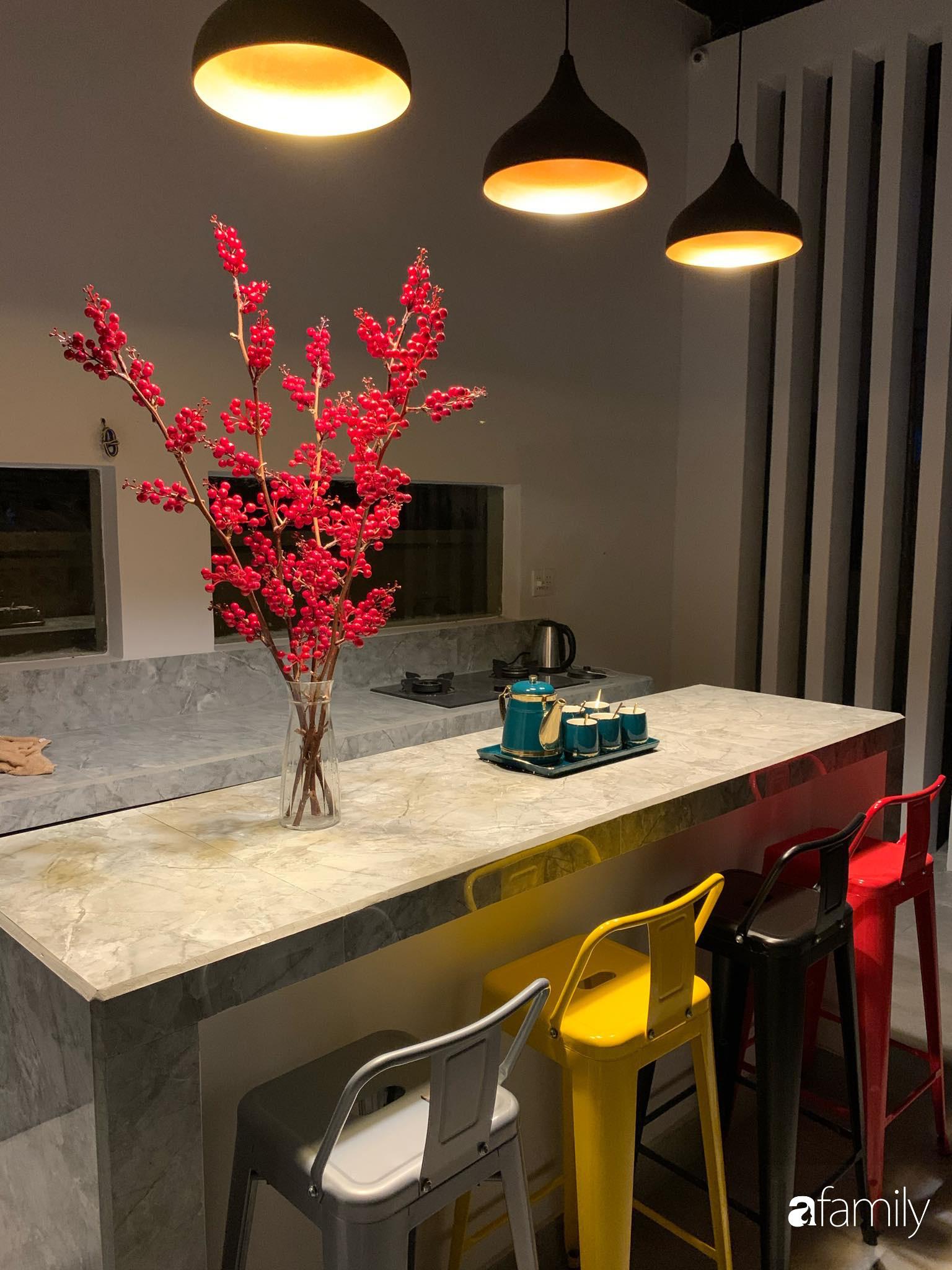 Ngôi nhà rộng 147m2 đẹp như resort củ chàng tri 24 tuổi ấp ủ hoàn thành ước mơ ở Tây Ninh - Ảnh 12.
