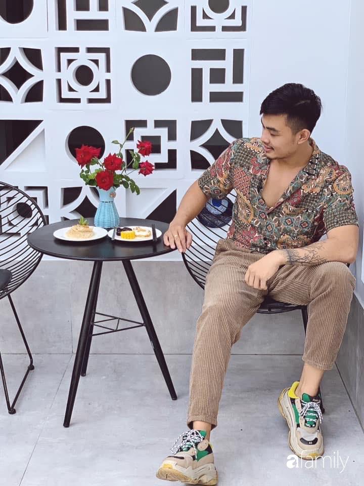 Ngôi nhà rộng 147m2 đẹp như resort củ chàng tri 24 tuổi ấp ủ hoàn thành ước mơ ở Tây Ninh - Ảnh 1.