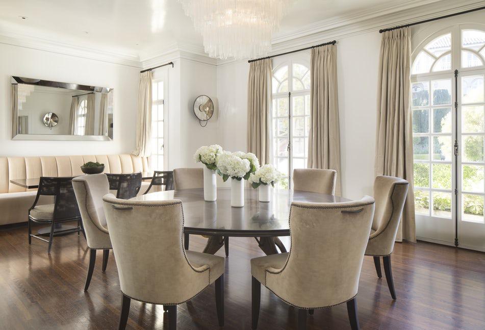 Luôn có ít nhất một lý do để bạn lựa chọn bàn ăn tròn cho ngôi nhà nhỏ của gia đình - Ảnh 1.