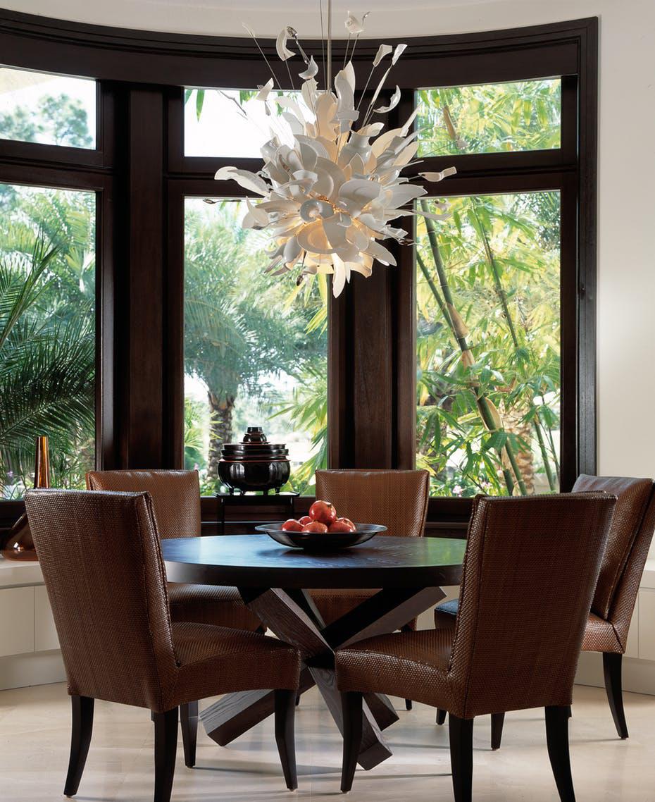 Luôn có ít nhất một lý do để bạn lựa chọn bàn ăn tròn cho ngôi nhà nhỏ của gia đình - Ảnh 7.