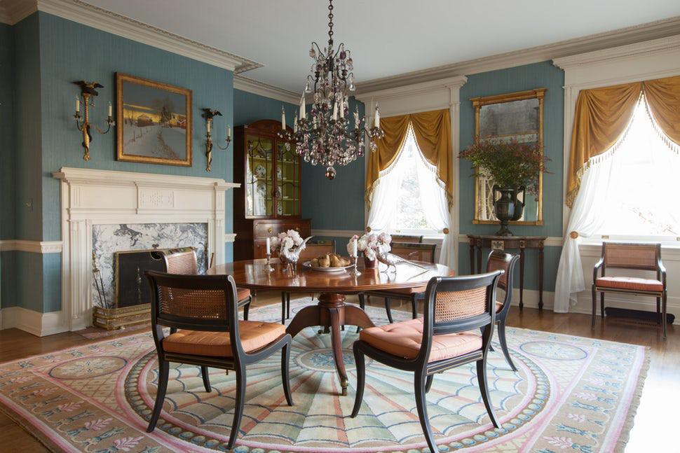 Luôn có ít nhất một lý do để bạn lựa chọn bàn ăn tròn cho ngôi nhà nhỏ của gia đình - Ảnh 14.