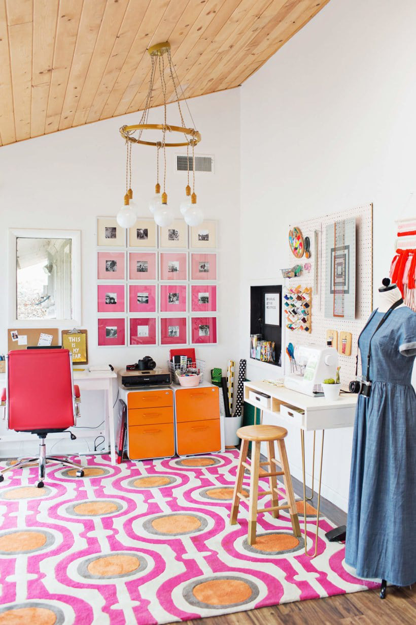 Nhẹ nhàng, thanh lịch nhưng không hề tẻ nhạt: hãy sử dụng màu ombre trong việc thiết kế nhà hoặc những góc trang trí ấn tượng - Ảnh 4.