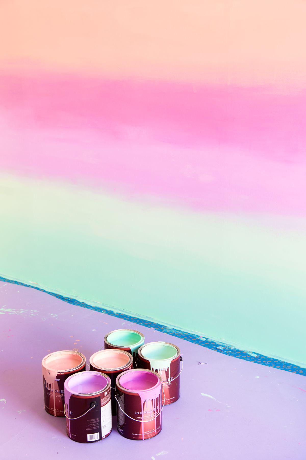 Nhẹ nhàng, thanh lịch nhưng không hề tẻ nhạt: hãy sử dụng màu ombre trong việc thiết kế nhà hoặc những góc trang trí ấn tượng - Ảnh 2.