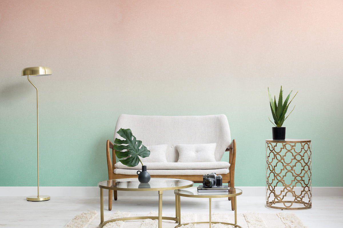 Nhẹ nhàng, thanh lịch nhưng không hề tẻ nhạt: hãy sử dụng màu ombre trong việc thiết kế nhà hoặc những góc trang trí ấn tượng - Ảnh 1.