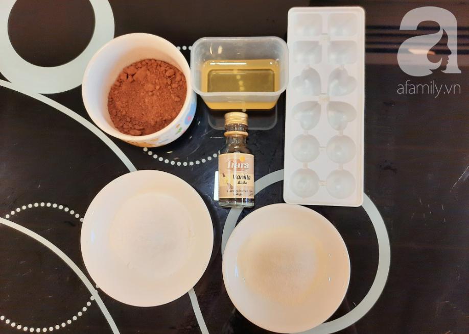 Valentine thêm lãng mạn với những viên chocolate tự làm cực kỳ chất lượng - Ảnh 1.
