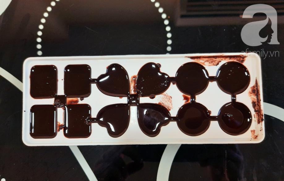 Valentine thêm lãng mạn với những viên chocolate tự làm cực kỳ chất lượng - Ảnh 4.