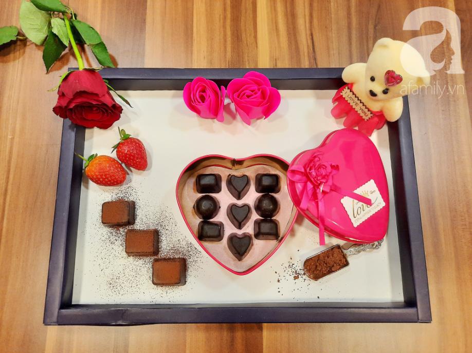Valentine thêm lãng mạn với những viên chocolate tự làm cực kỳ chất lượng - Ảnh 5.