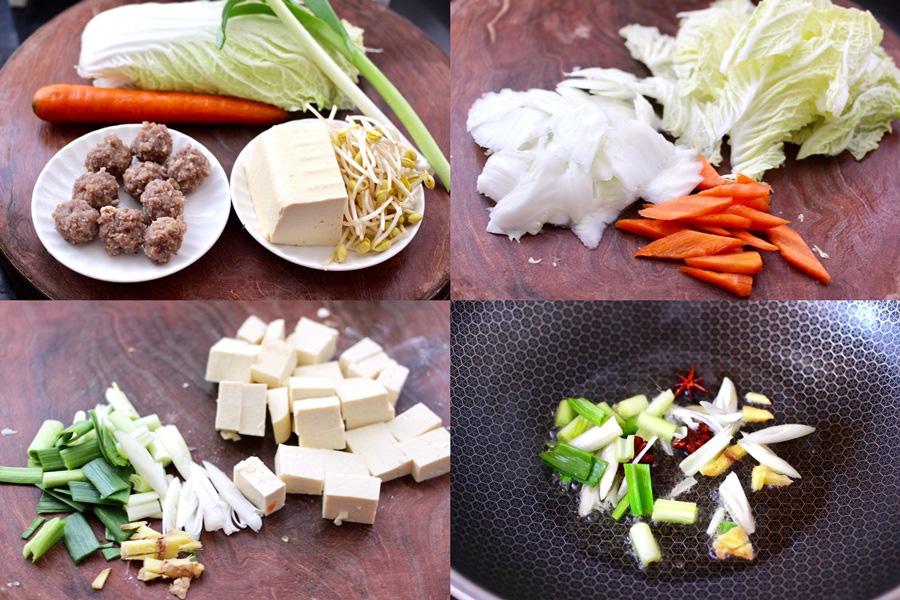 Miến thịt rau củ: Duy nhất 1 món cho bữa tối mà đủ chất - ngon và không gây tăng cân! - Ảnh 1.