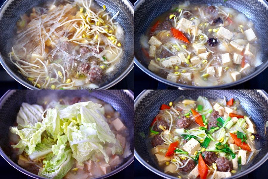 Miến thịt rau củ: Duy nhất 1 món cho bữa tối mà đủ chất - ngon và không gây tăng cân! - Ảnh 3.