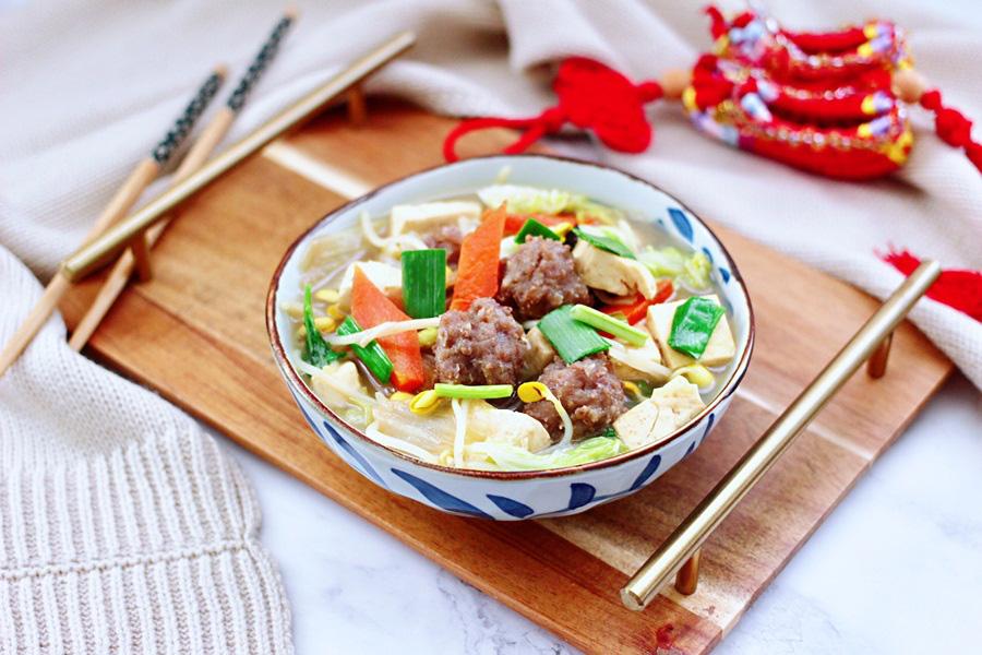 Miến thịt rau củ: Duy nhất 1 món cho bữa tối mà đủ chất - ngon và không gây tăng cân! - Ảnh 4.