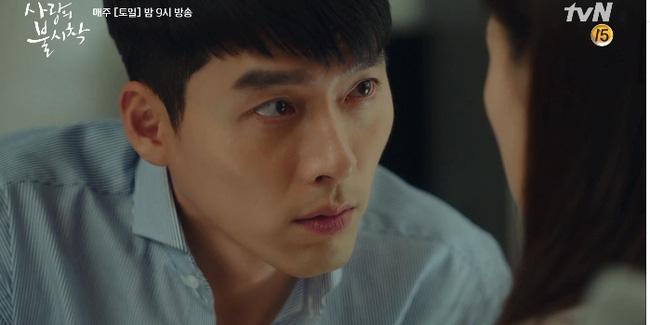 """Hậu trường""""Crash Landing On You"""": Son Ye Jin không cho Hyun Bin hôn liền nhận ngay ánh mắt giận dỗi - Ảnh 2."""