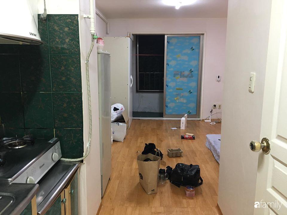 Từ căn phòng cũ kỹ, cô gái trẻ tự sửa sang, cải tạo thành căn phòng đẹp lung linh không góc chết - Ảnh 2.