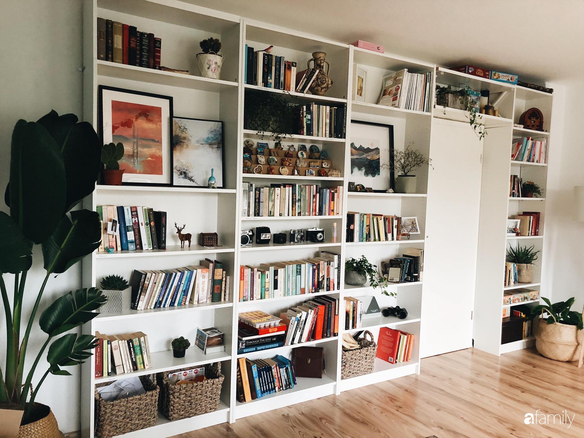 Tự tay cải tạo từng góc nhỏ, căn hộ của vợ chồng trẻ biến thành tổ ấm màu xanh đẹp như trong tạp chí - Ảnh 8.