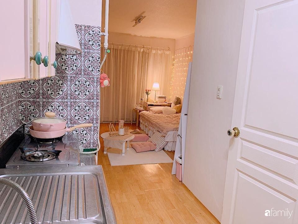 Từ căn phòng cũ kỹ, cô gái trẻ tự sửa sang, cải tạo thành căn phòng đẹp lung linh không góc chết - Ảnh 15.