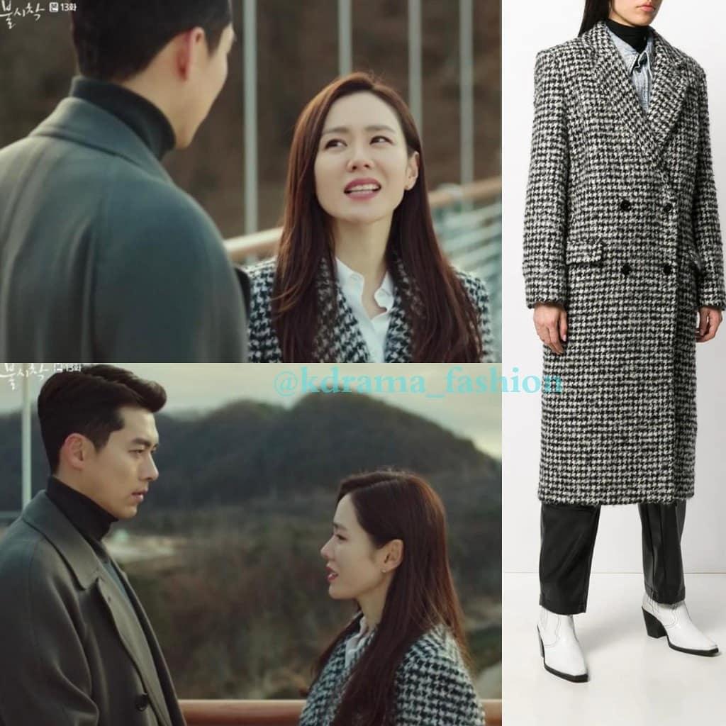 """Chiếc áo khoác 35 triệu mà Son Ye Jin mặc cháy hàng ngay khi tập 13 """"Hạ cánh nơi anh"""" được phát sóng - Ảnh 2."""