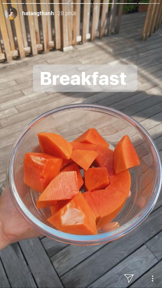 Ăn đu đủ vào bữa sáng như Hà Tăng hoặc tại thời điểm này sẽ giúp chị em giảm cân, giữ dáng thần sầu - Ảnh 1.